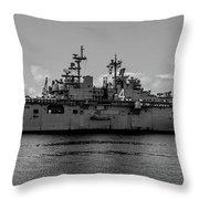 Starboard Boxer Throw Pillow