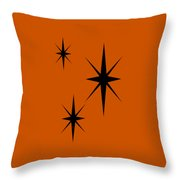 Starburst 1 Trio  Throw Pillow