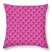 Starburst Minis Throw Pillow by Donna Mibus