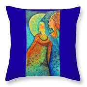 Starchild Throw Pillow