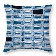 Stardust Aerogel Array Throw Pillow