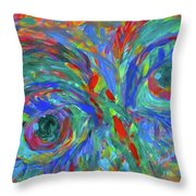 Stare Stage  Throw Pillow