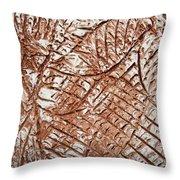 Stares - Tile Throw Pillow