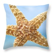 Starfish Close-up Throw Pillow
