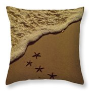 Starfish Constellation Throw Pillow