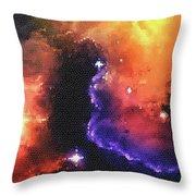 Stargazer - 01  Throw Pillow