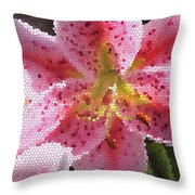 Stargazer Stained Glass Throw Pillow