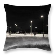 Stark Contrast Throw Pillow