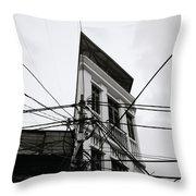 Stark Hanoi Throw Pillow