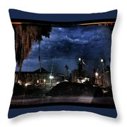 Starless Night Throw Pillow