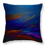 Starlight @ Night Throw Pillow