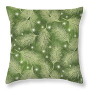 Starlight Christmas Viii Throw Pillow