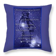 Starlight Of Space And Time 3 Throw Pillow