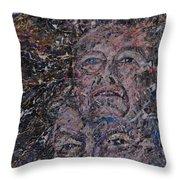 starr man David Bowie Throw Pillow