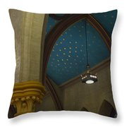 Starry Ceiling Throw Pillow