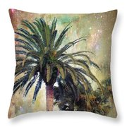 Starry Evening In St. Augustine Throw Pillow