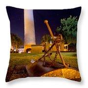 Starry Night Big Light Throw Pillow