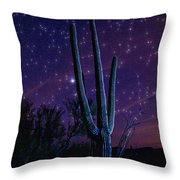 Starry Starry Sonoran Skies  Throw Pillow