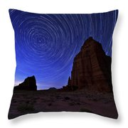 Stars Above The Moon Throw Pillow