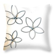 Stars  And Glasses Throw Pillow