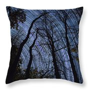 Stars And Silhouettes Throw Pillow