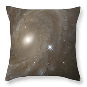 Stars And Spiral Galaxy Throw Pillow