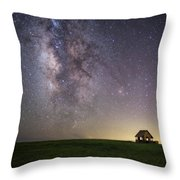 Stars And Storms Throw Pillow