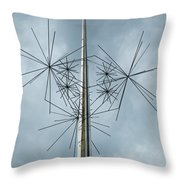 Stars At Air And Space Throw Pillow