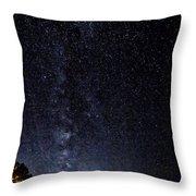 Stars At Lake Tahoe Throw Pillow
