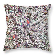 Stars Give Birth To Color Throw Pillow