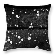 Stars On The Concrete Throw Pillow