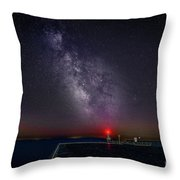 Stars Over Lake Ontario Throw Pillow