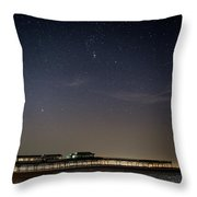 Stars Over The Fy8 Throw Pillow