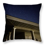 Stars Over The Pavilion Throw Pillow