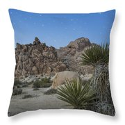 Stars Shining Over Indian Cove Throw Pillow