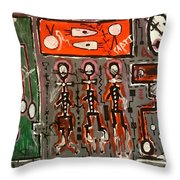 Start Throw Pillow