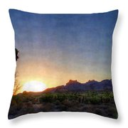 Start Of A New Day Throw Pillow