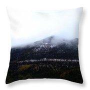 Start Of The Rockies Throw Pillow