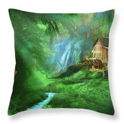 Startled By Your Intrusion Throw Pillow