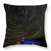 Startrail Throw Pillow