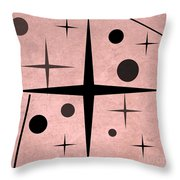 Starts And Dots Throw Pillow