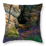 Starved Rock No 2 Throw Pillow