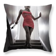 Stat Is Going To Paint The Town Red Throw Pillow