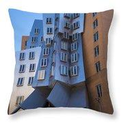 Stata Center Cambridge Ma Mit Throw Pillow