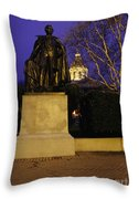 State Capitol Building - Concord New Hampshire Usa Throw Pillow