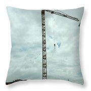 State College  Pa Throw Pillow