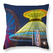 State Fair II Throw Pillow