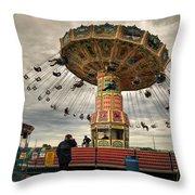 State Fair Of Oklahoma IIi Throw Pillow