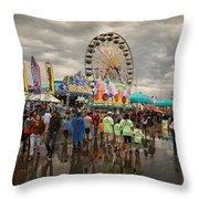 State Fair Of Oklahoma Throw Pillow