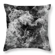 State Of Confusion Throw Pillow
